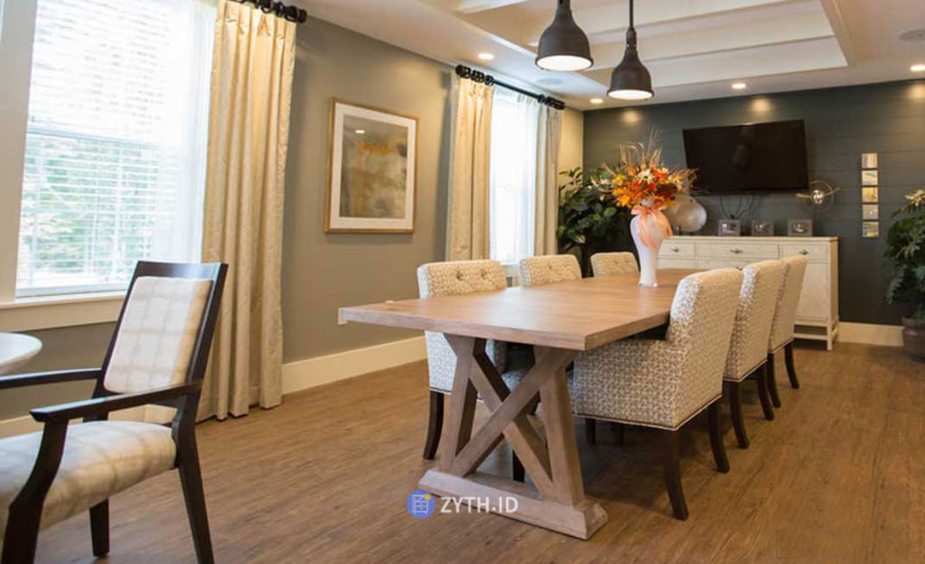 Interior Dining Room Model Minimalis dan Modern