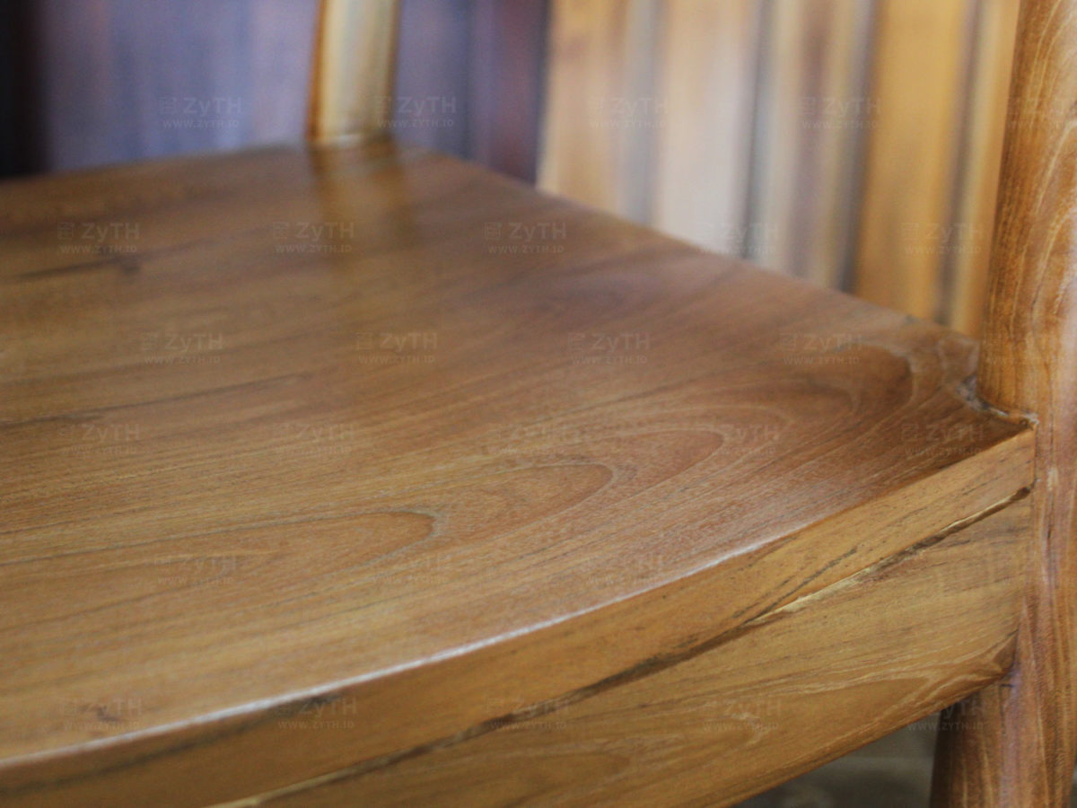 Valencia Dining Chair Natural Teak Wooden